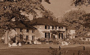 The Briars- One of the original homesteads belonging to the family of Peter Sibbald